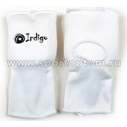Накладки на кисть INDIGO х/б, эластан  PS-1305 Белый