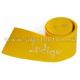 Эспандер Бинт-латекс INDIGO LIGHT  602-1 HKRB 5*210 см Желтый