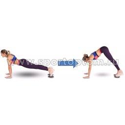 Диски для скольжения (слайдер) INDIGO IN097 упражнение3