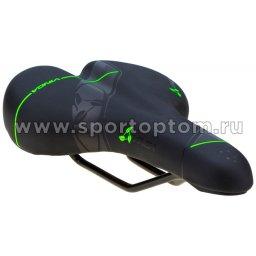 Вело Седло  VS 110 275*175 мм Черно-зеленый