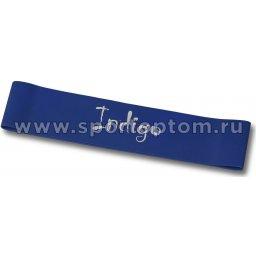 Эспандер Лента латекс замкнутая INDIGO HEAVY (7-12 кг) 6004-3 HKRB 46*5*0.09 см Синий