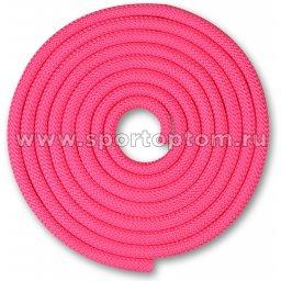 Скакалка для художественной гимнастики Утяжеленная 180 г INDIGO SM-123 3 м Розовый