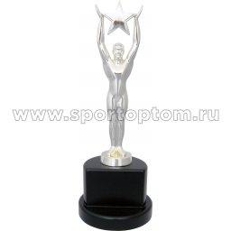 Кубок Атлет со звездой INDIGO h28см (серебро, статуэтка) 8823 G