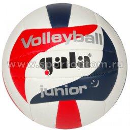 Мяч волейбольный GALA Junior тренировочный шитый (PVC) BV 5093 S Бело-сине-красный