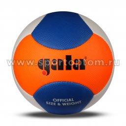 Мяч волейбольный GALA Beach Play 06 пляжный шитый (PU) BP 5273 S Бело-сине-оранжевый