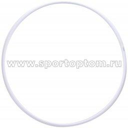 Обруч гимнастический пластиковый(аналог Сасаки) 165 г KO-307 600 мм Белый