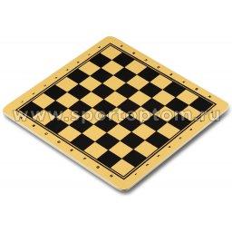 Поле шахматы/шашки/нарды ламинированный картон 09352 Q                   30*30см
