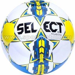 Мяч футбольный №3 SELECT TALENTO 2015 тренировочный (PU) 811008 Бело-желто-синий