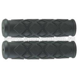 Вело Ручки резиновые TRIX G59-HL TRP 12,8 см Черно-синий