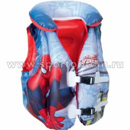 Жилет надувной BW Spider Man 3-6л 98014 51*46 см