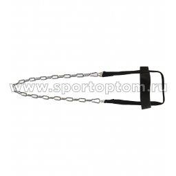Эспандер Упряжь для мышц шеи INDIGO SM-126 Черный