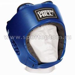 Шлем боксёрский Green Hill ORBIT и/к детский  HGO-4030 Синий