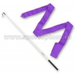 Лента гимнастическая с палочкой 58 см AMAYA 330415 5,0 м Фиолетовый