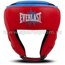 Шлем боксёрский детский EVERLAST PROSPECT PU  P00001647 XS Красный