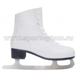 Коньки фигурные Kristina PW215/F06                 Белый
