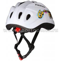 Вело Шлем детский INDIGO IN072 GO 10 вент. отверстий (2)