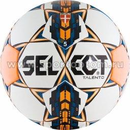 Мяч футбольный №5 SELECT TALENTO 2015 тренировочный (термопластичн.PU) 811008 Бело-оранжево-синий