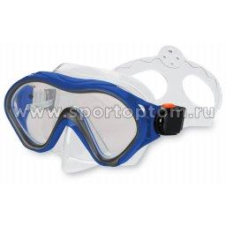 Маска для плавания  INDIGO MERO  детская IN060 Синий