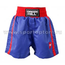 Трусы боксёрские Green Hill KIDS полиэстер BSK-3647 Синий