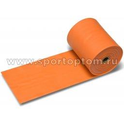 Эспандер ленточный  INDIGO MEDIUM (ТПЭ) 6003-2 HKRB 25м*15см*0,45мм Оранжевый