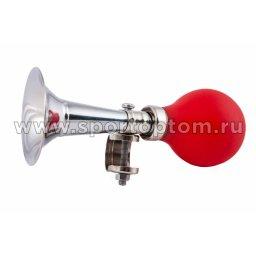 Вело Клаксон VCA 1 рожок (серебро) 277/14           Красный