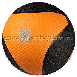 Медицинбол INDIGO 9056 HKTB 5 кг Оранжево-черный