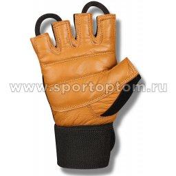Перчатки для фитнеса с широким напульсником INDIGO SB-16-1073  (2)