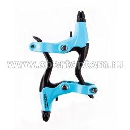 Вело Ручки тормозные алюминиевые рычаги 51 VB             Голубой