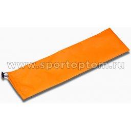 Чехол для булав гимнастических INDIGO SM-129  55*13 см Оранжевый