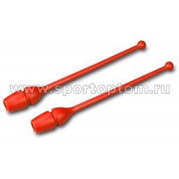 Булавы для художественной гимнастики вставляющиеся AMAYA (термопластик) 320202 41 см Красный