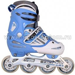 Роликовые коньки раздвижные  F1-V2 30-33 Сине-белый