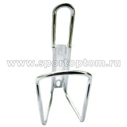 Вело Держатель фляги TRIX алюминий  SF-Y06B Серебряный
