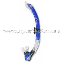 Трубка для плавания  INDIGO детская (ПВХ, маскодержатель) IN065 Синий