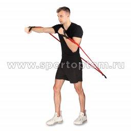 Эспандер Лыжника-Боксёра 4 шнура INDIGO (10)
