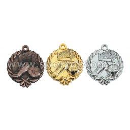 Медали INDIGO Футбол d48мм к-т 3шт: золото, серебро, бронза 480001 ZS                 48 мм