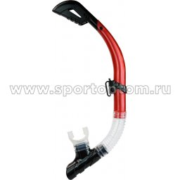 Трубка  для плавания  INDIGO (ПВХ, силикон. загубник волнорез, клапан) 0945 SI
