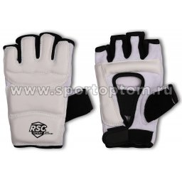 Перчатки таэквондо RSC PU  3650 L Белый