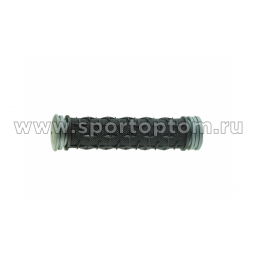 Вело Ручки резиновые TRIX  TPR 75G-HL 13 см Черно-серый