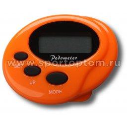 Шагомер электронный 049 CX Оранжевый
