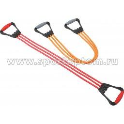 Эспандер плечевой PRO-SUPRA 3 жгута 396 TR 48 см