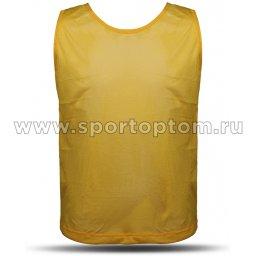 Манишка Сетчатая Спортивные Мастерские SM-248 Желтый