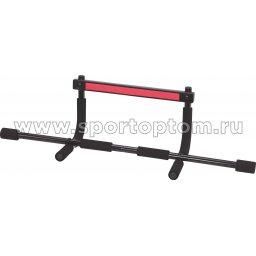 Турник навесной в дверной проем PRO-SUPRA до 90 кг  320-DY 92 см Черный