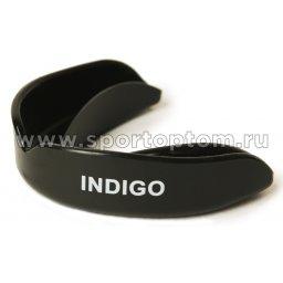 Капа 1 челюстная  INDIGO термо, в контейнере MS-01-TP Черный