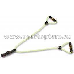 Эспандер Лыжника-Пловца с неопреновыми ручками INDIGO 2 жгута SM-058