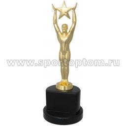 Кубок Атлет со звездой INDIGO h28см (золото, статуэтка) 8820 G