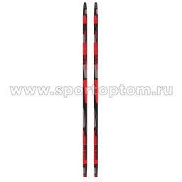 Лыжи полупластиковые INDIGO CLASSIC 180 см Красный