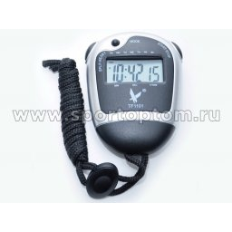 Секундомер электронный  (2 этапа,часы, будильник) 1101 TF