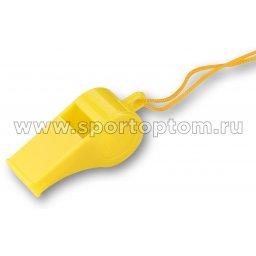 Свисток пластиковый на шнурке min упаковка  20 шт         CO-096 (20)